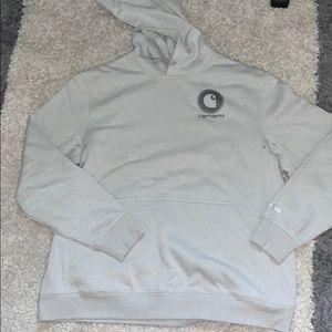 BRAND NEW men's or woman's gray Carhartt hoodie!!!